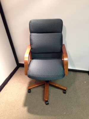hon highback office chair patterned fabric 149