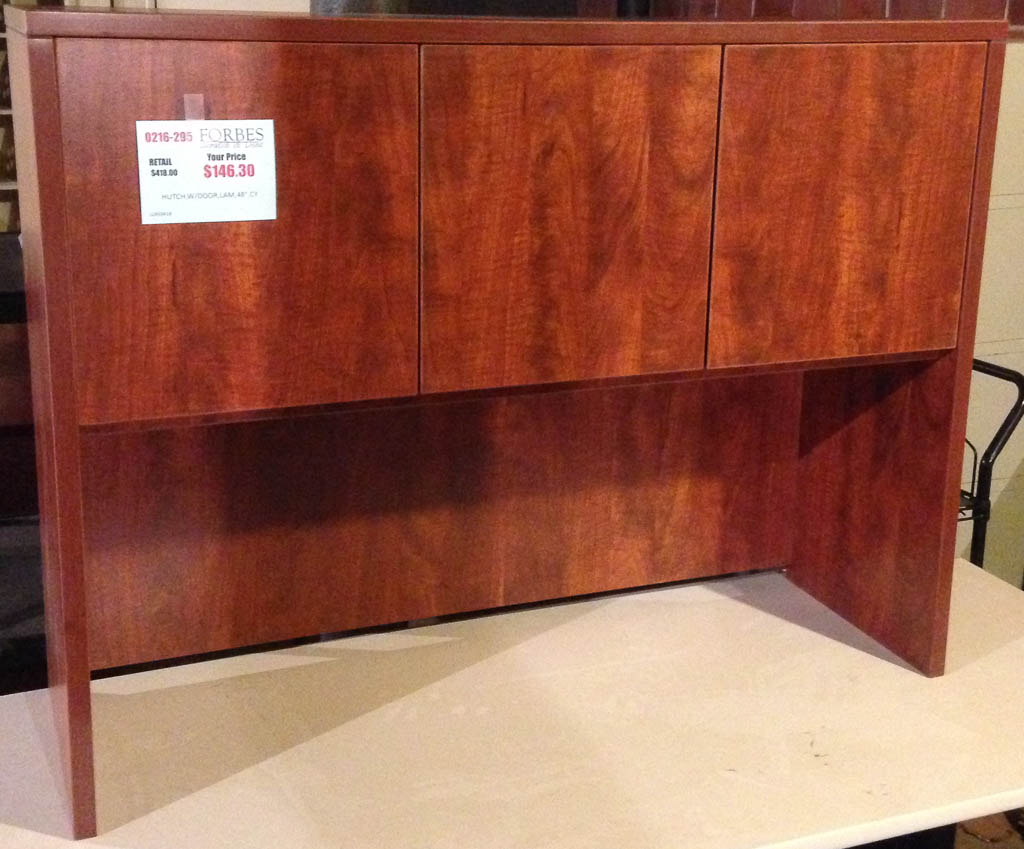 lorell hutch with doors 0216-295 - forbes office solutions