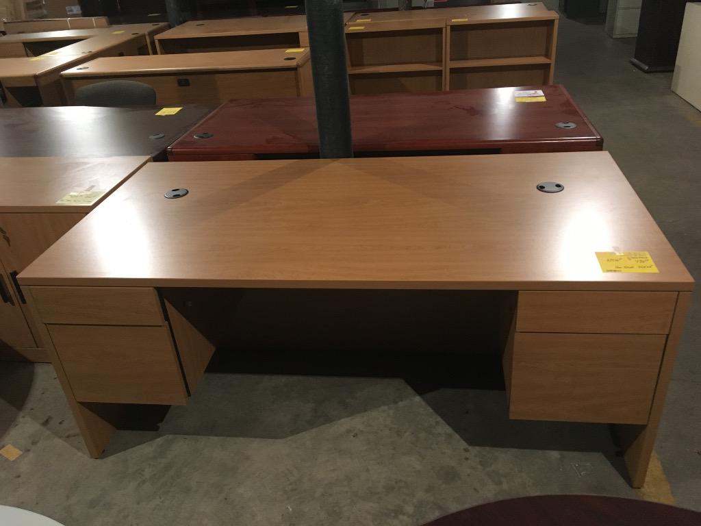 Hon 36 X 72 Harvest Oak Desk 0417 932